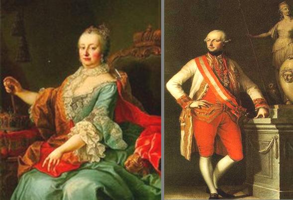 Marija Terezija i Josip II