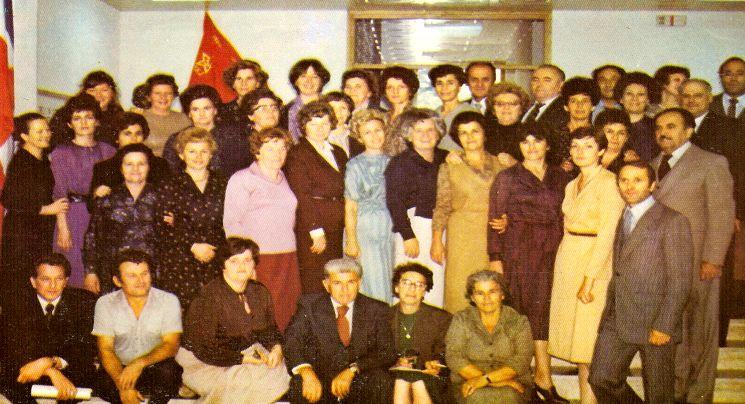 Djelatnici OŠ 1980.g.